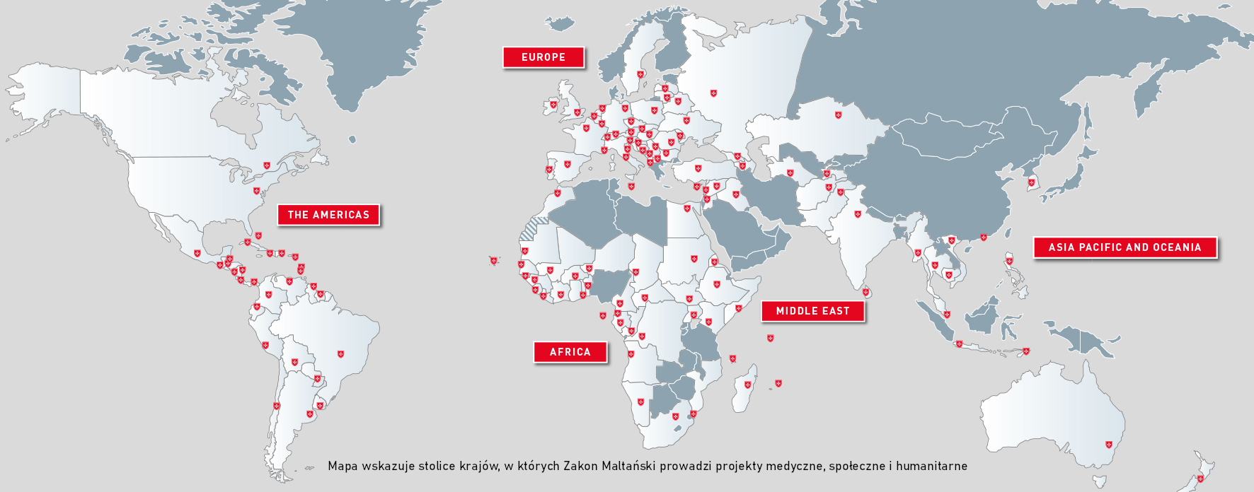 The Order of Malta's activities in 120 countries