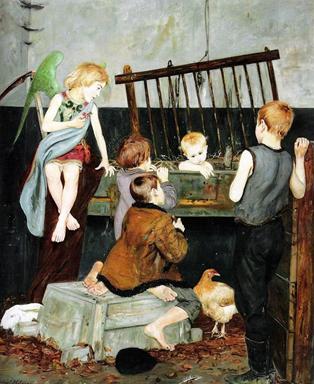 Vlastimil Hofman, Jasełka, 1918