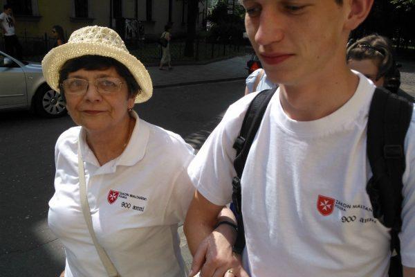Pani Halinka, pierwsza podopieczna Hospicjum Maltańskiego w Katowicach